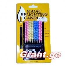 სანთელი Magic 10 ცალი