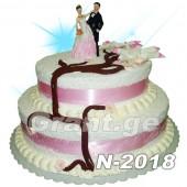 საქორწილო ტორტი 2018