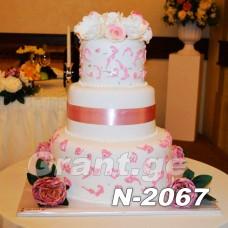 საქორწილო ტორტი 2067