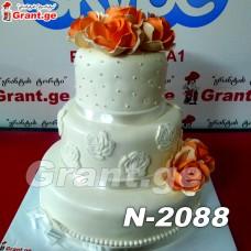 საქორწილო ტორტი 2088