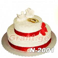 საქორწილო ტორტი 2001