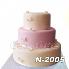საქორწილო ტორტი 2005